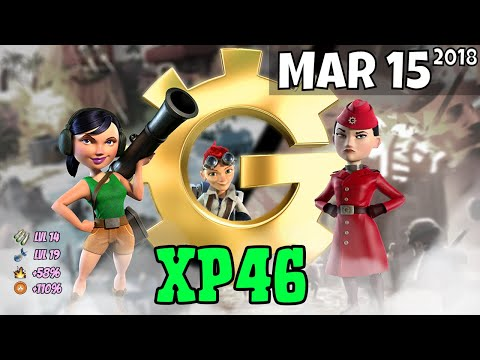 Boom Beach - (XP46) War Factory Unboosted - Mar 15/2018