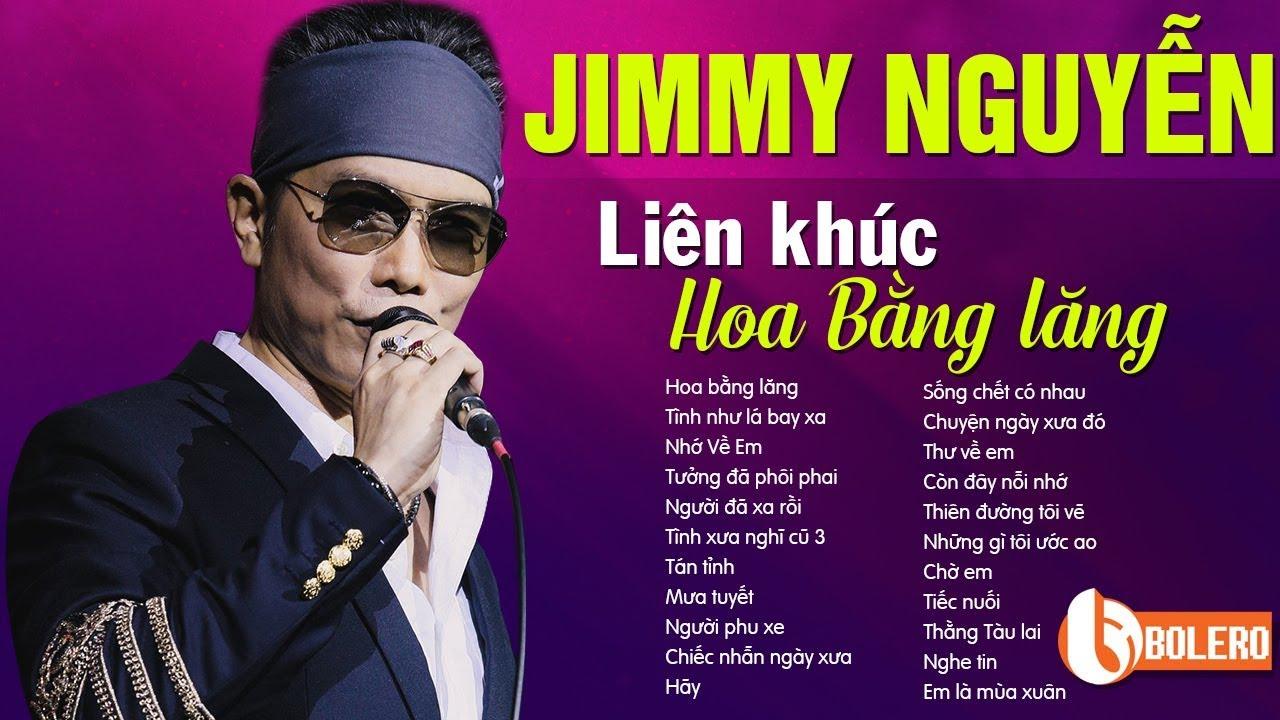 Tuyển tập nhạc Jimmy Nguyễn hay nhất mọi thời đại - LK HOA BẰNG LĂNG Để Đời