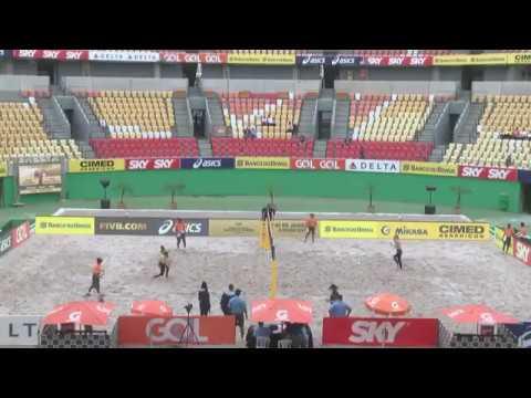 Beachvolley-Ludwig/Walkenhorst x Pavan/Humana-Paredes CAN-RIO DE JANEIRO-4 stars world tour-semfinal
