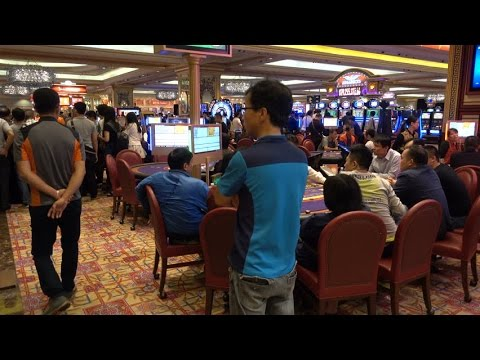 Hidden Camera Footage Inside Macau's Casinos - The Las Vegas Of Asia