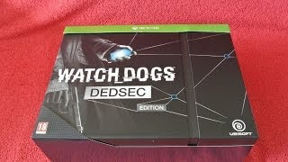 Watch Dogs Dedsec Edition Unboxing