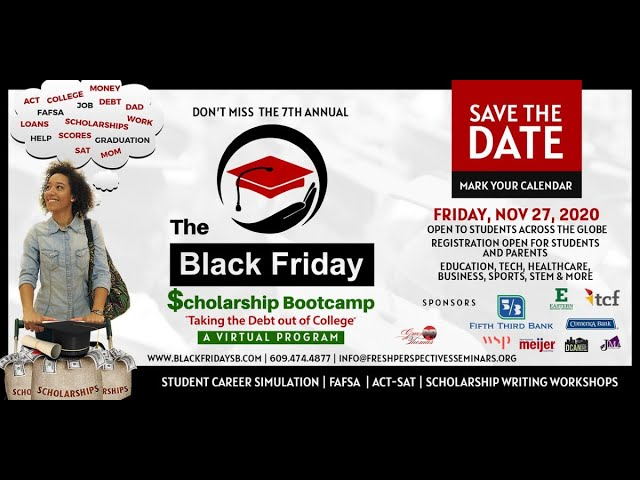 Fresh Perspectives Seminars 2020 Black Friday Scholarship Bootcamp