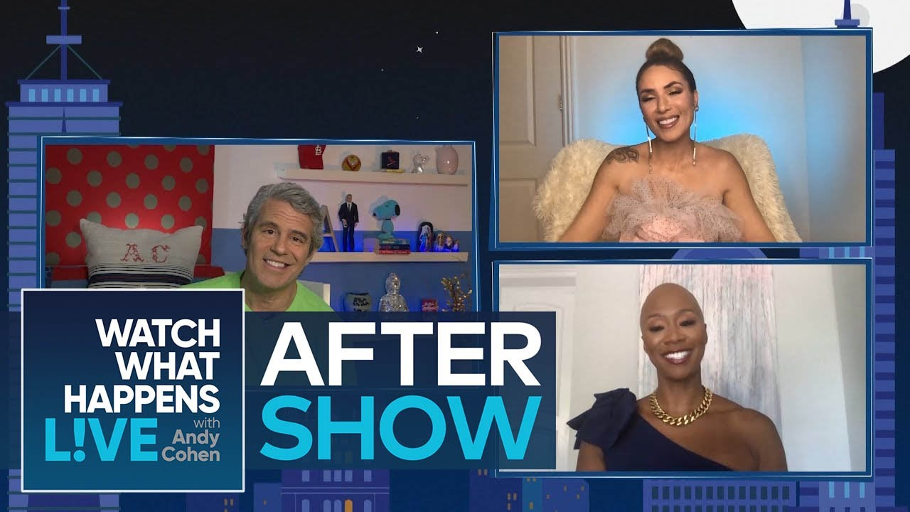 After Show: What's the Cause of Shanique Drummond & Lia Dias's Issues? | WWHL