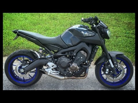 fz 09 mt 09 ride to bike night arrow akrapovic exhaust. Black Bedroom Furniture Sets. Home Design Ideas