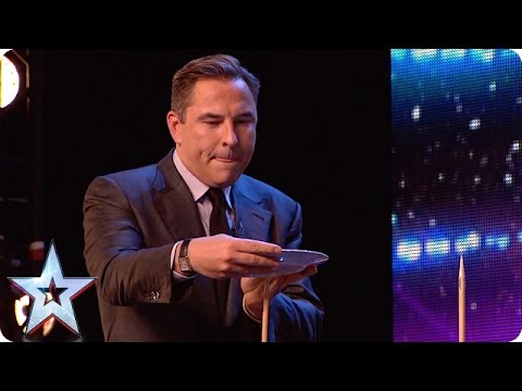 Unseen on screen! It's make or break for David, but he's in a spin! | Britain's Got Talent 2015