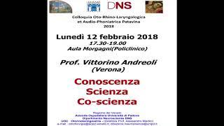 2018 feb 12 - Conoscenza Scienza Co-scienza. Università di Padova