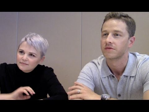 Once Upon a Time Josh Dallas and Ginnifer Goodwin Interview