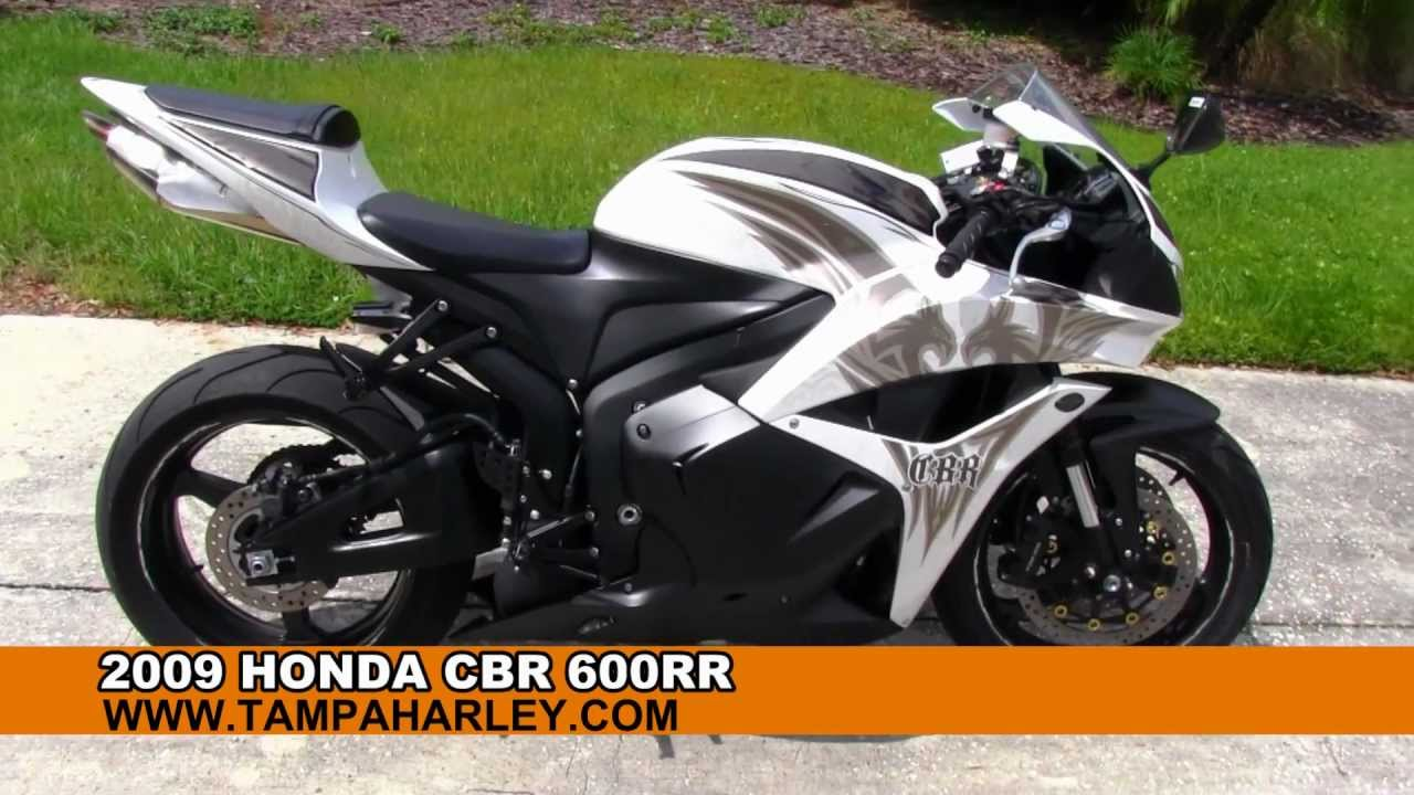 Used 2009 Honda Cbr600rr Sportbike For Sale Youtube