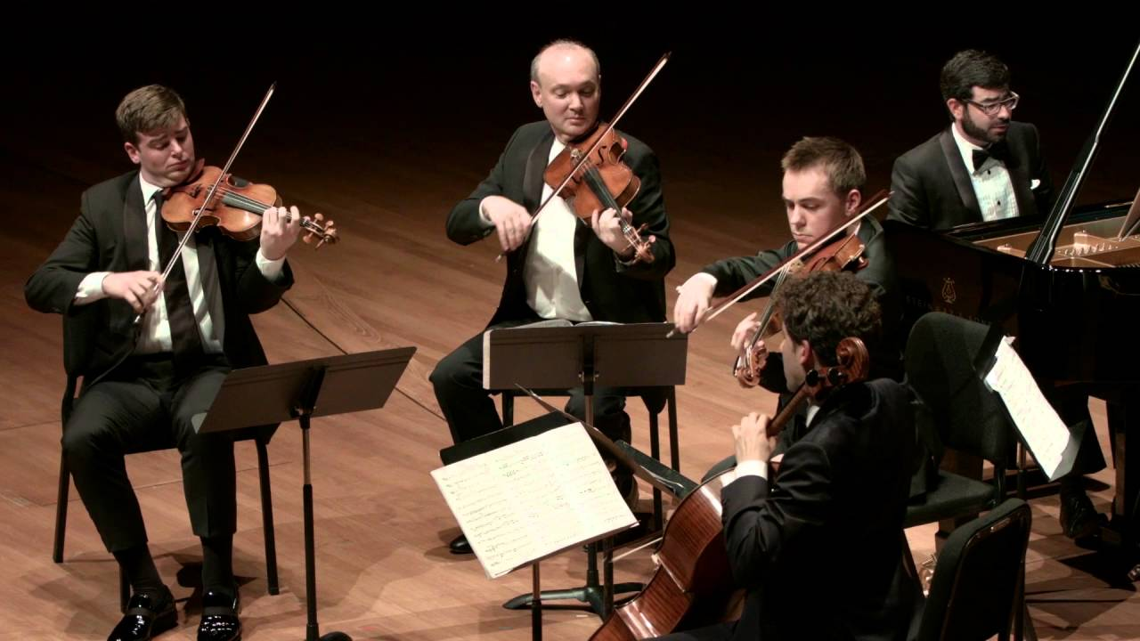 Mendelssohn: Sextet in D major for Piano, Violin, Two Violas, Cello, and Bass, IV. Allegro Vivace