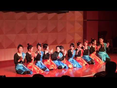 "Indonesian Performance : ""Saman Dance"" @Hebei Normal University, Shijiazhuang, China (New Year 2016)"