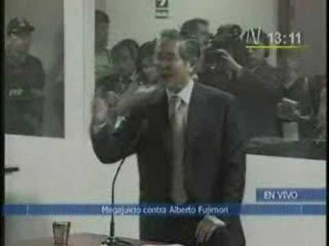 ALBERTO FUJIMORI - JUICIO (SE DECLARA INOCENTE DE CARGOS)