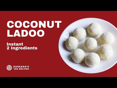 Instant Coconut Ladoo Recipe Quick Coconut Ladoo Recipe