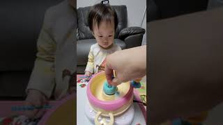 하린이와 솜사탕만들기