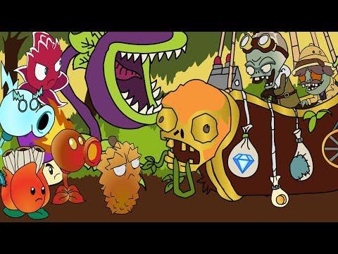 Plants vs. Zombies ANIMATION Lost city PART 5 Cartoon (Parodia)