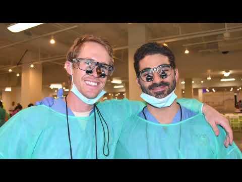 UCLA volunteers provide free health care at Care Harbor clinic | UCLA Newsroom