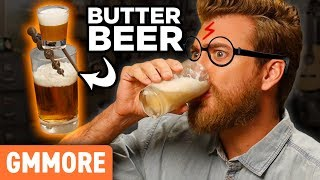 Harry Potter Butterbeer Bomb - Good Mythical MORE