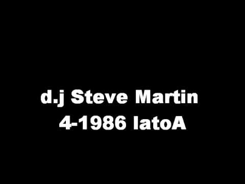 d j Steve Martin 4 1986  lato A disco dance
