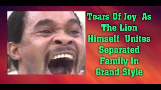 Tears Of Joy As The Lion Himself Unites Separated Family In Grand Style