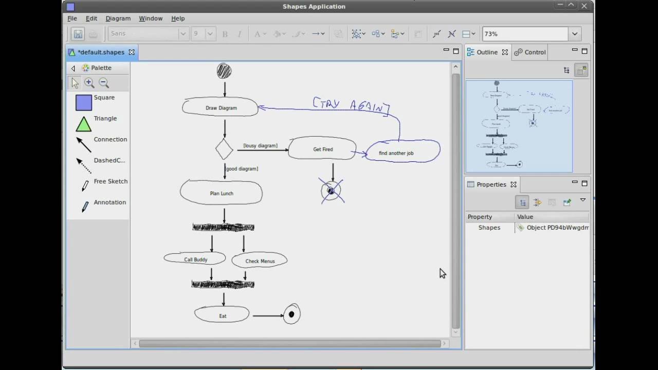 Eclipse sketch creating an activity diagram youtube eclipse sketch creating an activity diagram ccuart Images