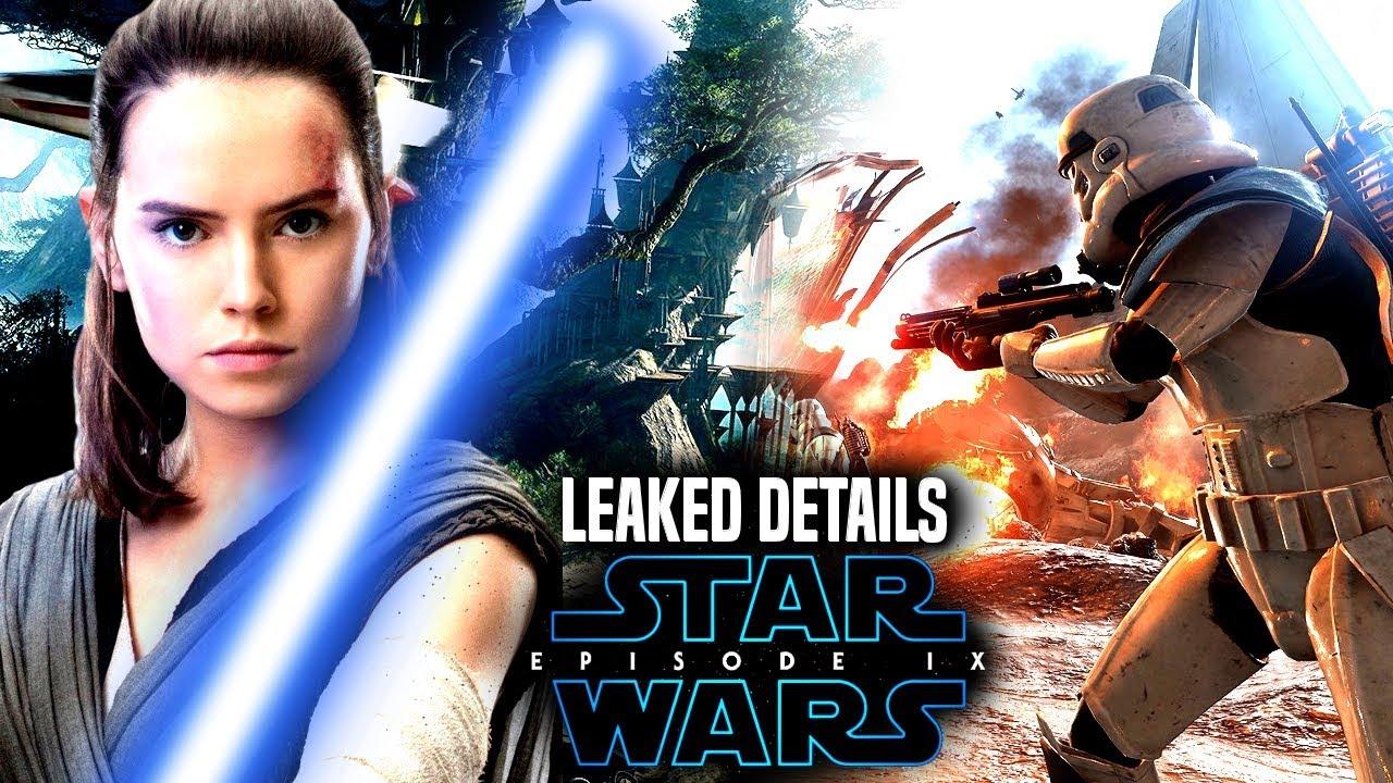 Star Wars Episode 9 Leaked Details & More! (Star Wars News) - YouTube