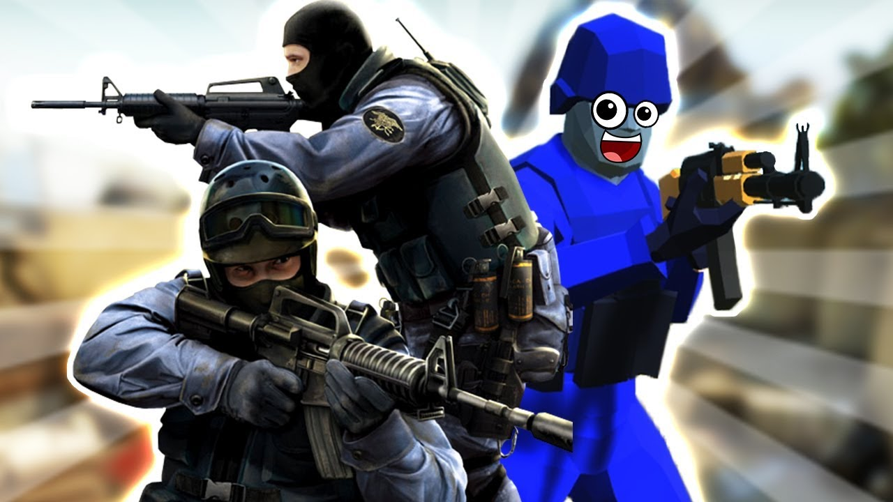 CSGO IN RAVENFIELD! 🔪 Ravenfield Custom Map Beta Gameplay 💥