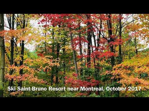 Ski Saint-Bruno Resort in Fall