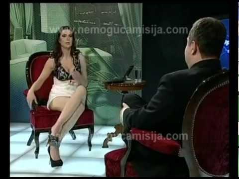 [UNCENSORED] Serbian prime minister Ivica Dačić left speechless in glamorous interview