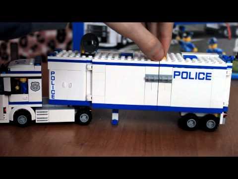Обзор конструктора LEGO City 60044 Mobile Police Unit (Выездной отряд полиции)
