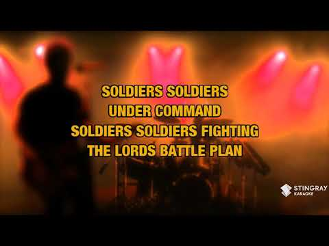 Soldiers Under Command in the style of Stryper   Karaoke with Lyrics