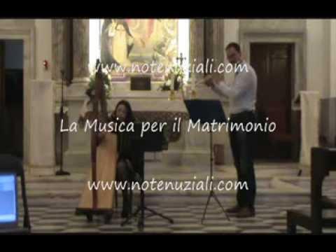 Musica per Matrimonio - Romeo e Giulietta - ARPA E FLAUTO TRAVERSO