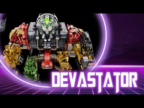 Обзор на десептикона Devastator