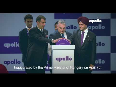 APOLLO Hungary Factory Launch