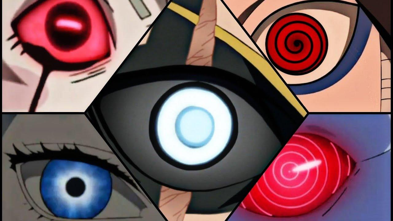 Narutotop 40 Strongest Eyes Jōgantenseiganrinneganmangekyo