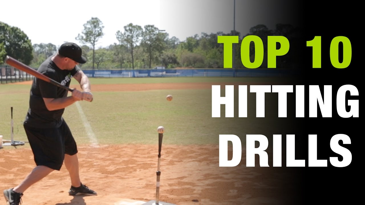Top 10 Hitting Drills To Develop The Perfect Baseball Swing Top 10 Thursday Ep 2