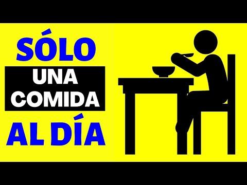 22 Beneficios 1 COMIDA AL DÍA - AYUNO INTERMITENTE