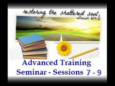 SRA / DID Advanced Training Sessions 7 - 9