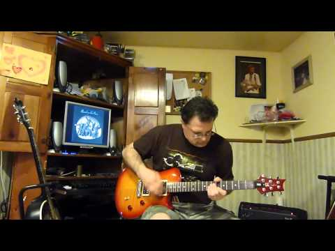 Paul McCartney & Wings - Band On The Run - guitar cover