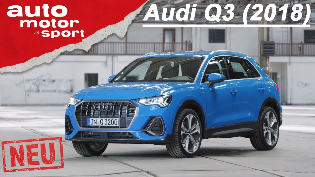 der neue audi q3 2018 erste sitzprobe im suv. Black Bedroom Furniture Sets. Home Design Ideas