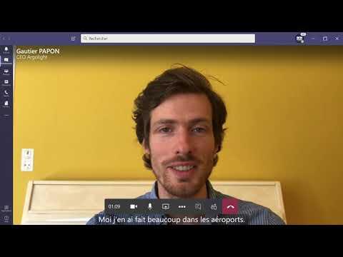 Interview de Gautier PAPON - CEO Argolight (1/3)