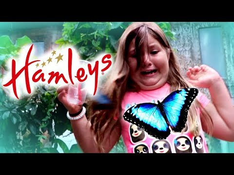 SLIME & SQUISHIES AT HAMLEYS! and no I am not SCARED of Butterflies!