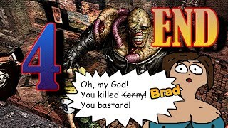 [PS1] Resident Evil 3: Nemesis (RUS) [All File Locations &  Nemesis Fights] ⚡ 4 The End