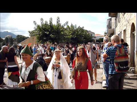 Extraits vidéos des Médiévales De Lévie en Corse du sud