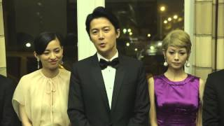 映画『そして父になる』カンヌ映画祭上映後会見②[HD](福山雅治、尾野真千子、真木よう子、是枝裕和)