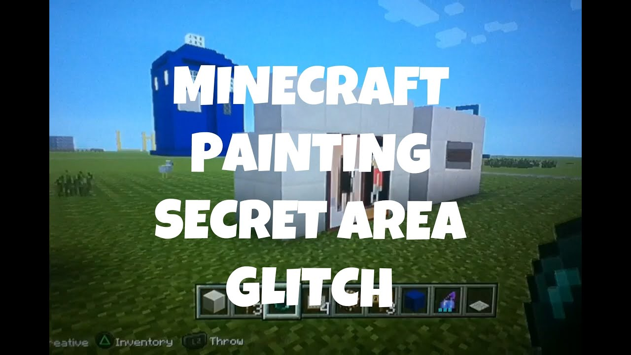 Minecraft How To Make A Secret Room With A Painting