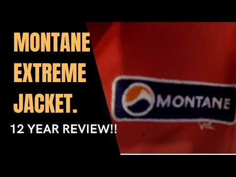 MONTANE EXTREME JACKET 12 YEAR REVIEW