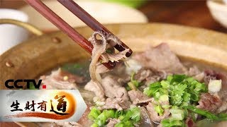 《生财有道》 20190510 美味中国系列 感受匠心 寻味乐山| CCTV财经
