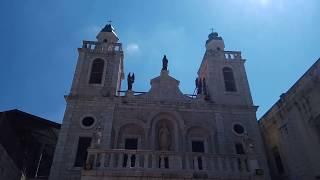 Израиль.Галилея . Церковь Первого Чуда.Собор Венчания.