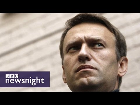 Alexei Navalny: 'Putin is the Tsar of corruption' - BBC Newsnight