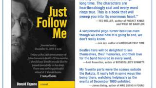 Chapter 1 of the novel Just Follow Me, by Donald Capone
