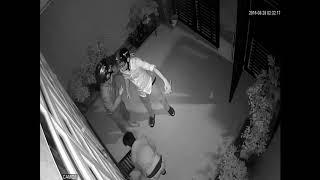 camera quay lai đươc trộm nhập nhà vào ban đêm